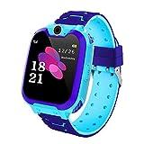 THE MOVAC. Montre étanche Smartwatch pour Enfants. Traceur GPS avec SOS Anti-Perte...
