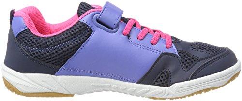GEKA Damen Sport Vs Multisport Indoor Schuhe Blau (Marine/Lila/Pink)