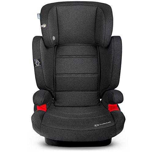 Kinderkraft Expander avec siège auto pour enfant Isofix Siège auto pour enfant de 15à 36kg (Noir)