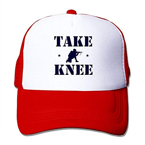 deyhfef Take A Knee Adjustable Sports Mesh Baseball Kappen Trucker Cap Sun Hüte Multicolor61 Tan Trucker Hut