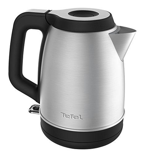 Tefal Element KI280D Wasserkocher, Edelstahl (1,7 Liter) schwarz