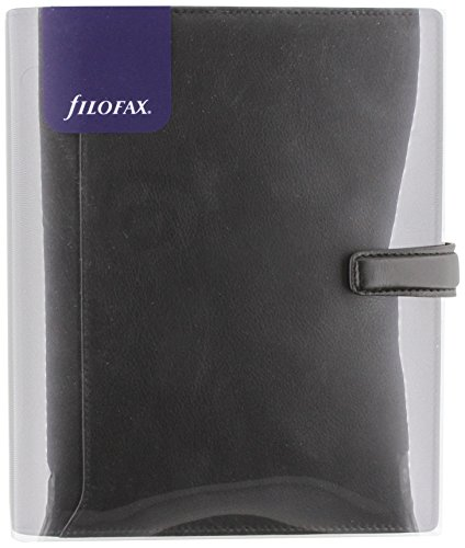 Preisvergleich Produktbild Filofax Nappa A5 Organiser Black
