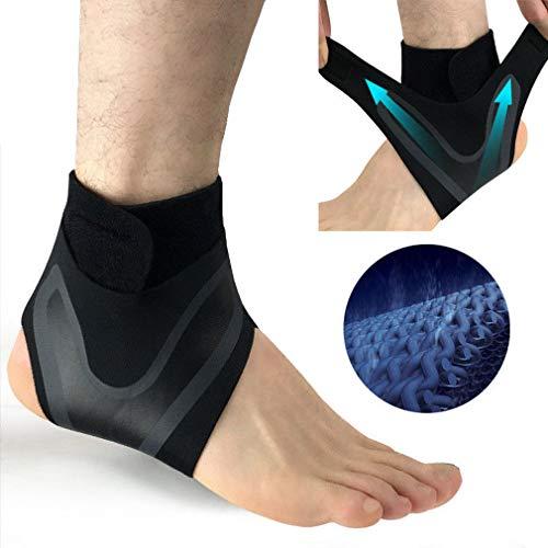 Knöchel Fußstütze Elastic Brace Guard Verstellbarer Fuß Drop Plantar Fasciitis Schiene Orthetische Korrekturgurt (S, Left) -