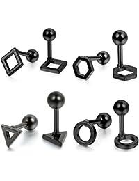 suchergebnis auf f r schwarze runde ohrringe. Black Bedroom Furniture Sets. Home Design Ideas
