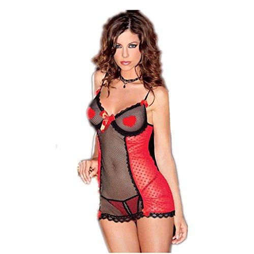 liudou-donna-cinghie-senza-maniche-abito-di-valentino-pigiama-romantico-perfetto-profondo-taglio-a-v