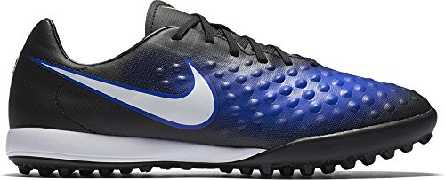 Nike 844417-015, Chaussures de Football Homme BLACK/WHITE-PARAMOUNT BLUE-BLUE TINT