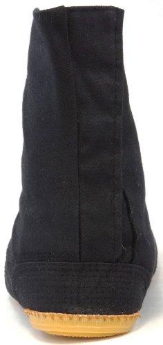 Ninja Tabi abfedernde Schuhe, Jikatabi Komfort Stiefel, Schuhe Rikio Ninja-Tabi! Schwarz