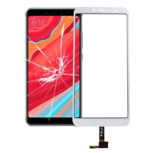 LIWIN Accesorios para Teléfonos Inteligentes Panel táctil, reemplazo de Piezas de reparación for Xiaomi Redmi S2 (Color : Blanco)