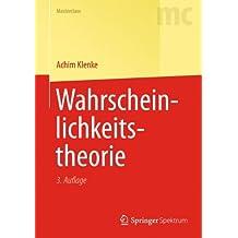 Wahrscheinlichkeitstheorie (Springer-Lehrbuch Masterclass)