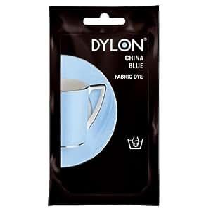 50 g Dylon Teinture pour textile Bleu Chine)