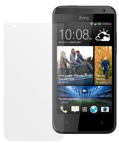 dipos I 2X Schutzfolie matt passend für HTC Desire 310 Folie Bildschirmschutzfolie
