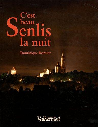 C'est beau Senlis la nuit