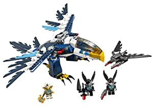 Lego Legends Of Chima - Playthèmes - 70003 - Jeu de Construction - L'intercepteur Aigle d'eris