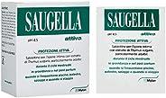 Saugella Attiva salviette con detergente intimo pH acido (4.5) contimo per un'azione protettiva 10 bustin