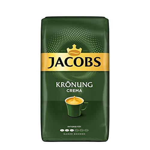 Jacobs Kaffeebohnen Krönung Crema, 4er Pack, 4 x 1 kg Bohnenkaffee