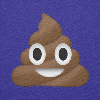 Texlab–Poo Emoji–sacchetto di stoffa Marine