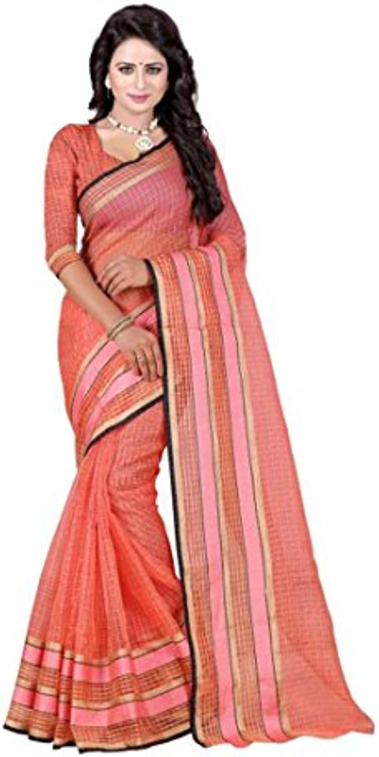 ... Indian Handicrfats Export Printed Fashion Parent Polycotton Saree  (arancia) B07C6RHZ5X Parent Fashion 1dbfd0 761ef10c8c2