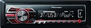 Pioneer MVH-350BT Autoradio Noir