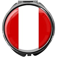 Pillendose/rund/Modell Leony/FLAGGE PERU preisvergleich bei billige-tabletten.eu