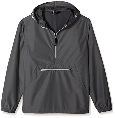 Charles River Apparel Adulto Unisex Pack n Go Windbreaker Pullover Antivento X Large