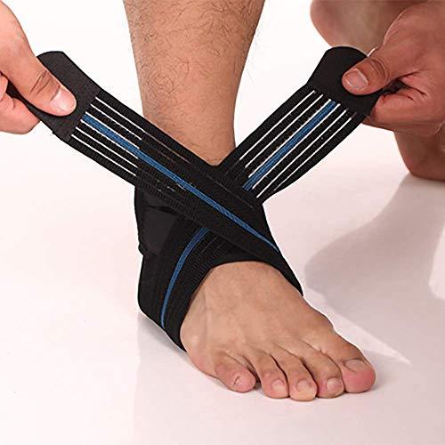 Knöchel Stützpolster, Arthritis-Bewegung Verstauin Wiederherstellen Knöchelschutz, Übungs Knöllabor, Eine Tasche von Linken und Rechten Fuß,Right