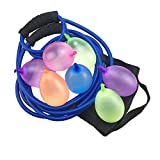 YAGATA Wasserbombenschleuder, Ballon Schleuder Werfer (Farbe Zufällige), 3 Personen Gruppenspiele mit 111 Balloons