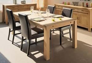 Ensemble table + 4 chaises Luminescence -