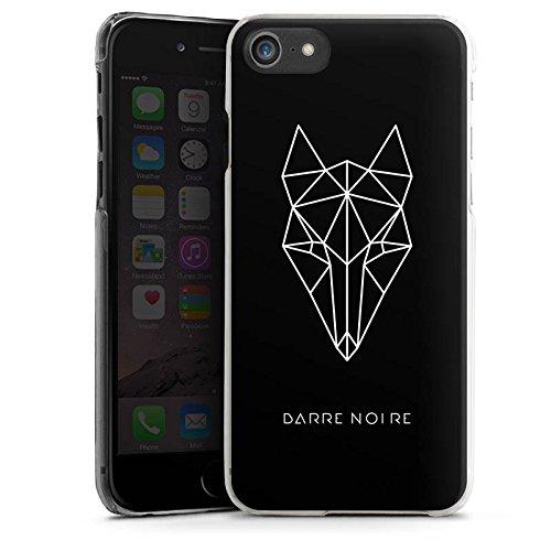 Apple iPhone X Silikon Hülle Case Schutzhülle Fuchs Fox Muster Hard Case transparent