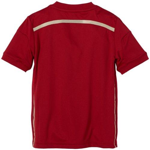 adidas Kinder Kurzärmliges Trikot FEF Spain Home Jersey Rot