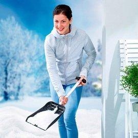 UPP Mobile Kompaktschaufel | Vollwertige Schneeschaufel & Sandschaufel SUPER KOMPAKT | Ideales Auto Zubehör für den Winter