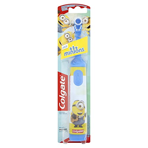 Colgate Minions Extra Soft Battery Toothbrush, Assorted