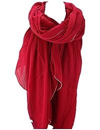 Etole écharpe XXL pour Femme Uni en viscose dans différents couleurs et tailles