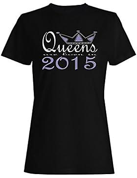 Nuevas reinas de diseño artístico nacen en 2015 camiseta de las mujeres b651f