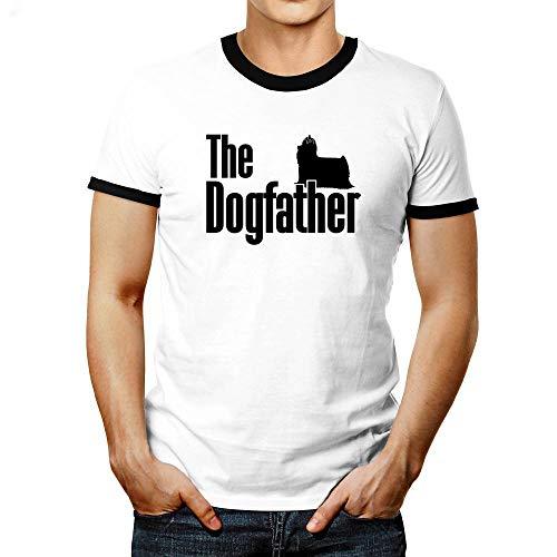 Stolz Ringer (Idakoos The Dogfather Yorkshire Terrier Ringer T-Shirt M)