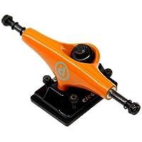 Prohibition Truck Skate Electra 5.25 Low Orange/Black Nimble