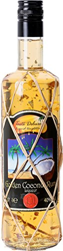"Golden Coconut Rum Liqueur (Gold Leaf) ""Limited Edition"""