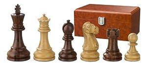 Philos 2242 Tutenchamun - Piezas de ajedrez (altura del rey 95 mm, triple peso, en caja)