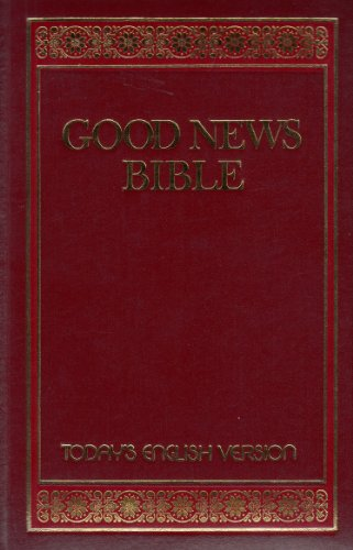 Good News Bible Today's English Version
