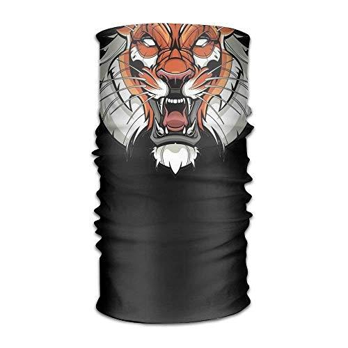 Mythical Creatures Tiger Headwear For Men And Women-Yoga Sports Travel Workout Wide Headbands,Neck Gaiter,Bandana,Helmet Liner,Balaclava,Hair Turban,Scarf