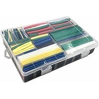 Rokoo 385PCS/Set Warmschrumpfschlauch 2: 1Tube Set 9Größen 7Farben Ärmel Wrap Polyolefin Röhren einziehbar... preisvergleich bei billige-tabletten.eu