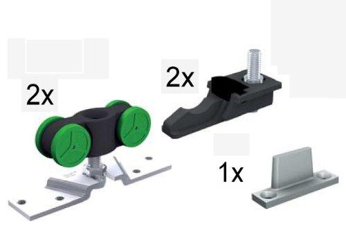 Mantion Schiebetür Beschlagsbeutel MA 40 für Schiebetür bis 40 kg, ohne Schiene