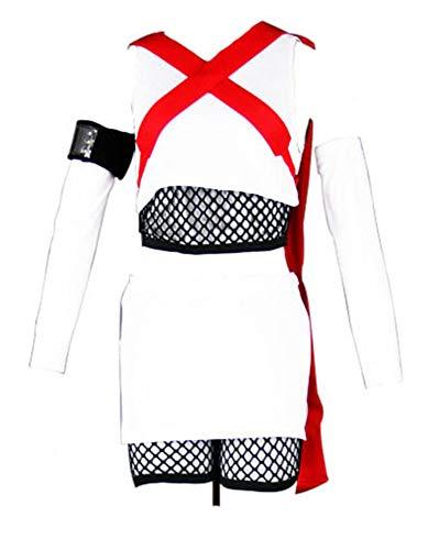 4 Naruto Kostüm Tails - Chong Seng CHIUS Cosplay Costume Outfit for Takigakure Seven Tails Jinchuuriki Fuu
