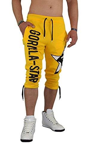 Billig Gorilla-Star Herren Sporthose-Short in Ultra Angesagtem Style ... fe3d8701aa