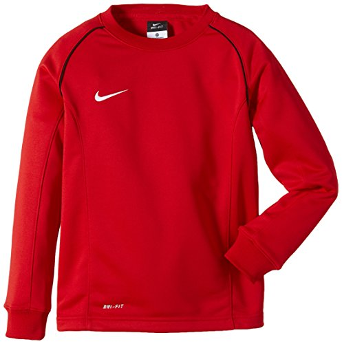 Nike Long Sleeve Top Found 12 Midlayer, University Red/Black/White, S, 447423-657