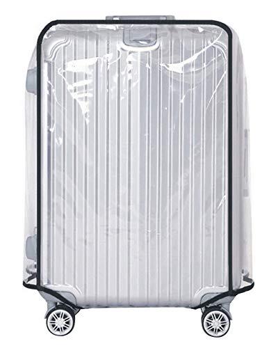 MISSMAO_FASHION2019 Klare PVC Wasserdichte Kofferabdeckung Reisegepäckabdeckung Kofferschutzhülle Transparent für 18-30 Transparent 30''[(72-76)*(53-57)*(34-38)] cm