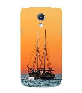 Boat in The Sea Hard Polycarbonate Designer Back Case Cover for Samsung Galaxy S4 i9500 :: Samsung I9500 Galaxy S4 :: Samsung I9505 Galaxy S4 :: Samsung Galaxy S4 Value Edition I9515 i9505G