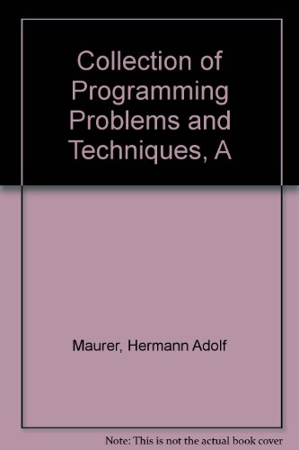 collection-of-programming-problems-and-techniques-a