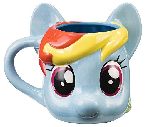 Tazza in ceramica, motivo: My Little Pony Rainbow Dash scolpito tazza ufficiale 42001