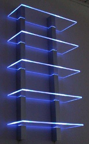Design Regal LED ideal für CD´s oder DVD`s
