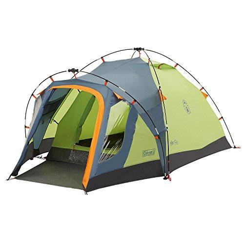 Coleman Fast Pitch Drake, 2 Mann Zelt, Zelt 2 Personen, Igluzelt, Festivalzelt, leichtes Kuppelzelt mit Vorzelt, eine Schlafkabine, wasserdicht WS 3.000 mm -